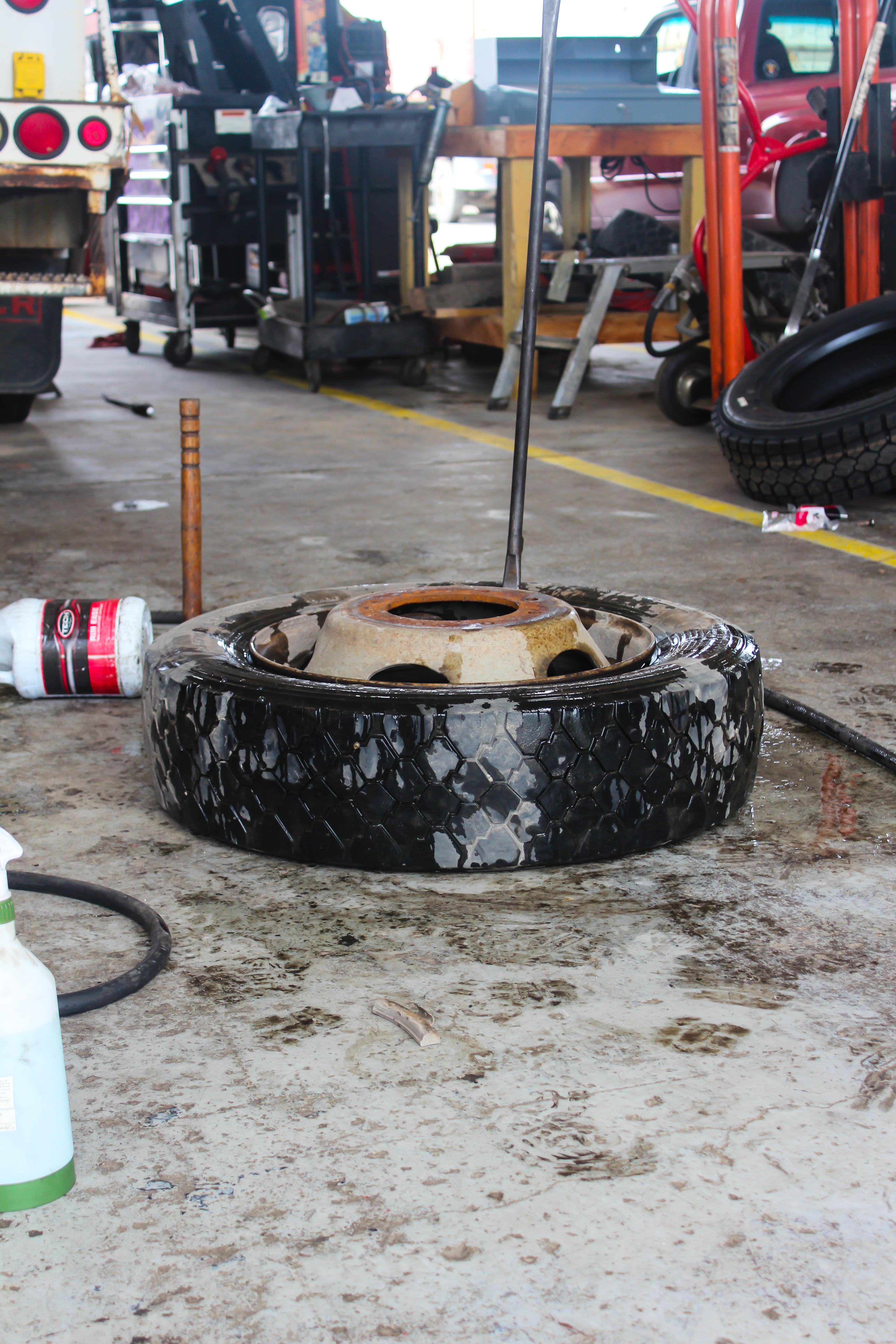 Service Description for Tire Change and Repair Image