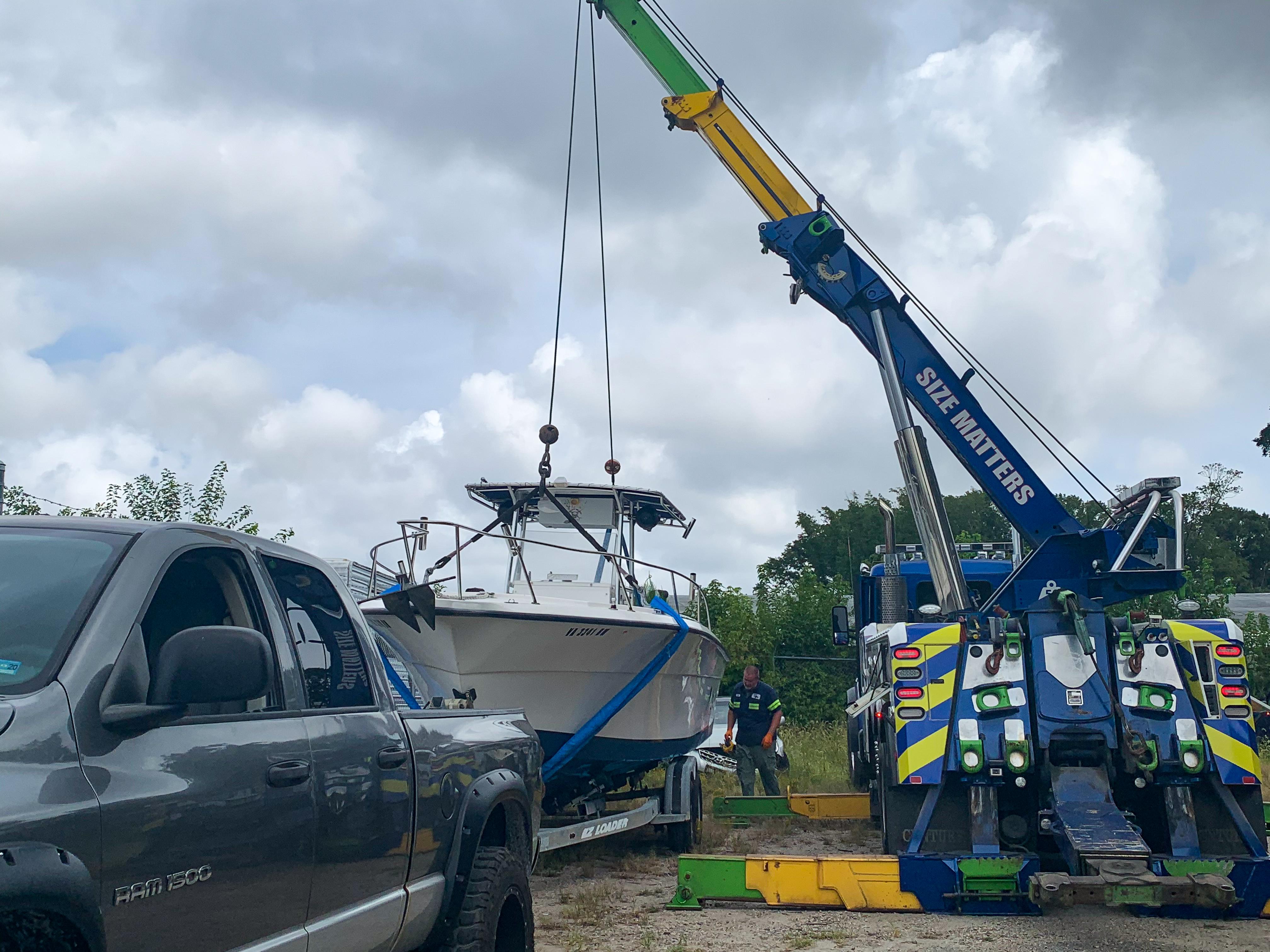 Service Description for Boat Towing Image