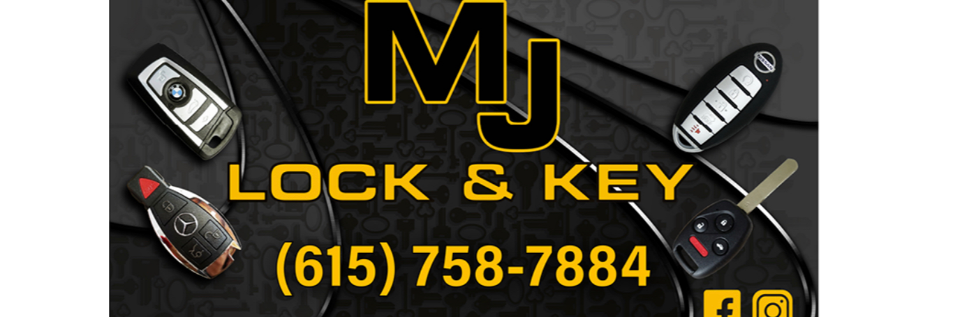 MJ Lock & Key Towing.com Profile Banner