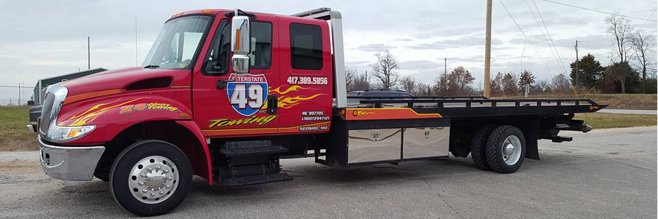 Brian Tackett Interstate 49 Towing LLC Towing.com Profile Banner
