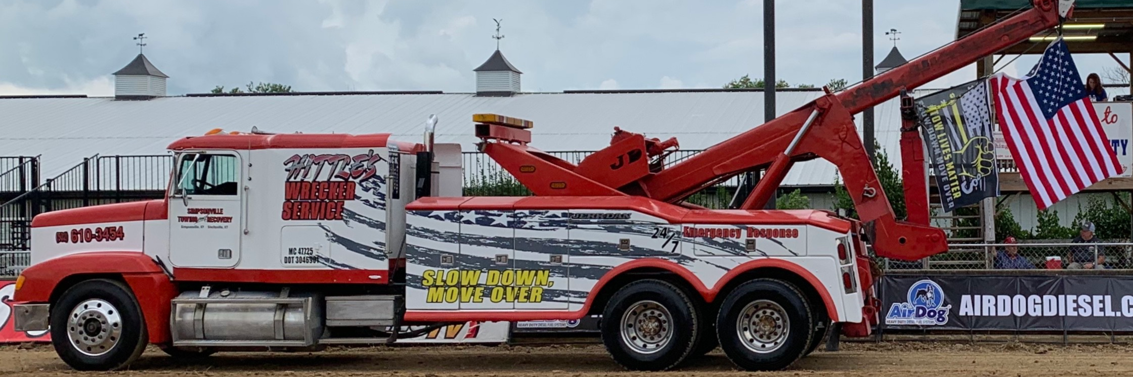Simpsonville Towing & Recovery DBA Hittle's Wrecker Service Towing.com Profile Banner