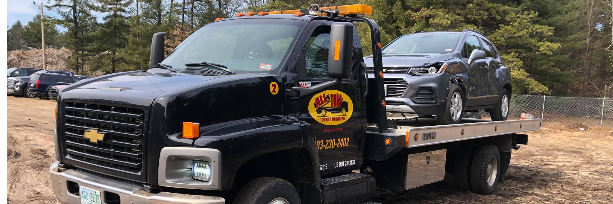 All Tow Towing & Recovery LLC Towing.com Profile Banner