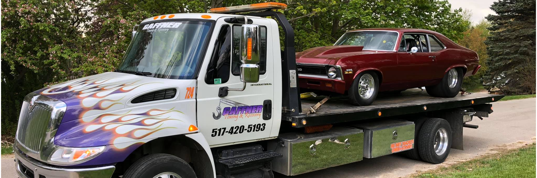 Gaffner Towing & Recovery Towing.com Profile Banner