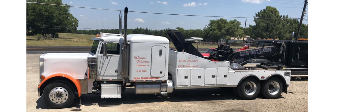 Weemes Wrecker Service Towing.com Profile Banner
