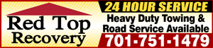 Red Top Recovery Service Towing.com Profile Banner