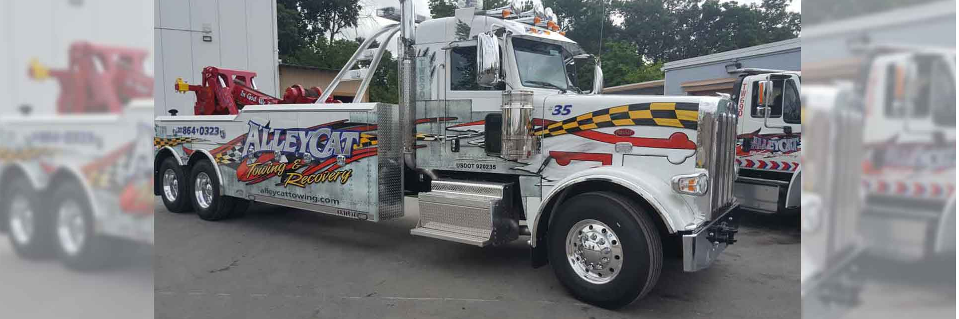 AlleyCat Towing & Recovery, Inc. Towing.com Profile Banner