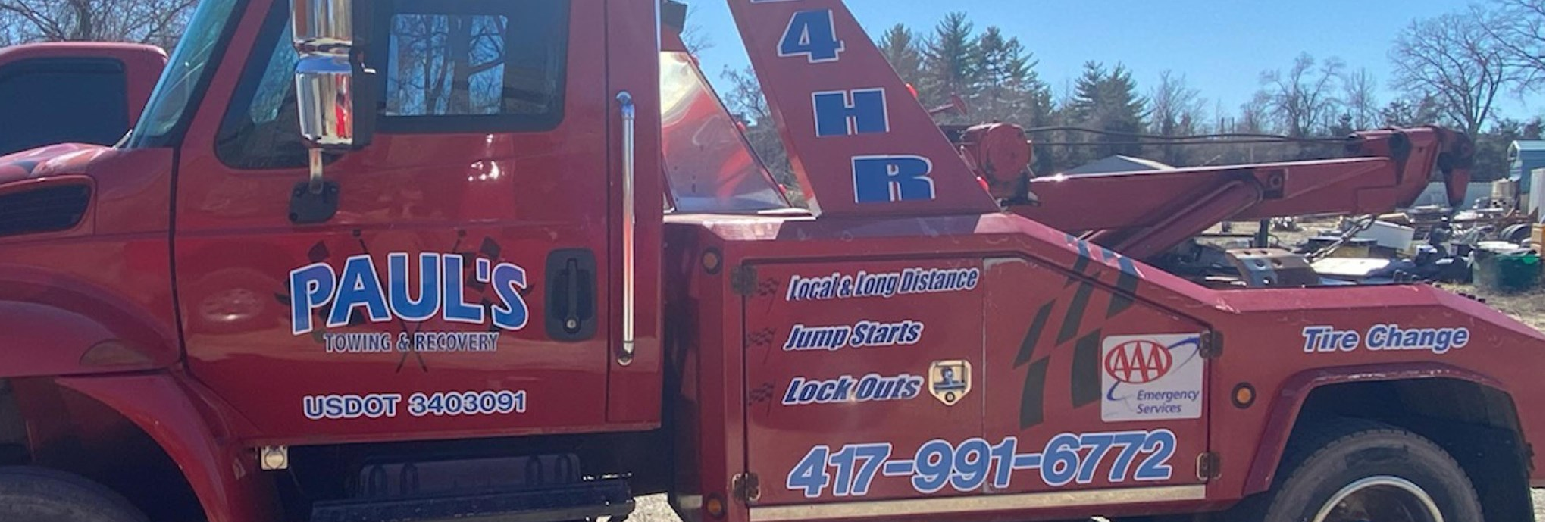 Paul's Towing & Recovery Towing.com Profile Banner