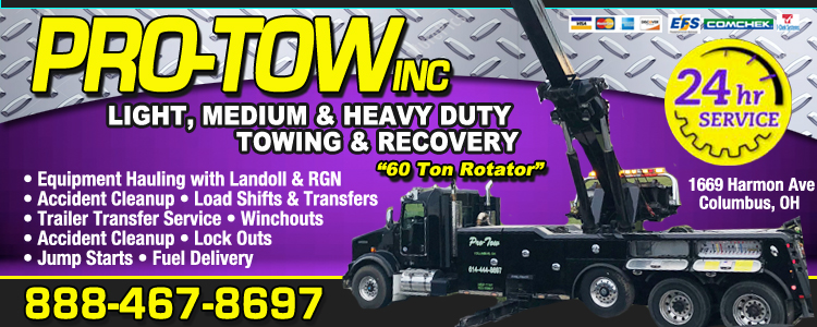 Pro-Tow Inc. Towing.com Profile Banner