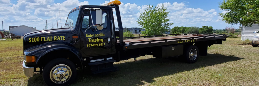 Baby Gorilla Towing LLC Towing.com Profile Banner