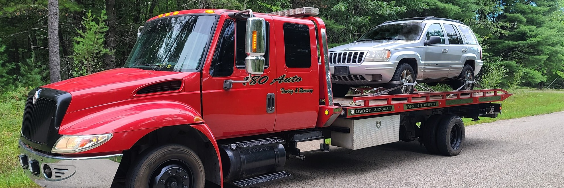 180 auto towing and recovery  Towing.com Profile Banner