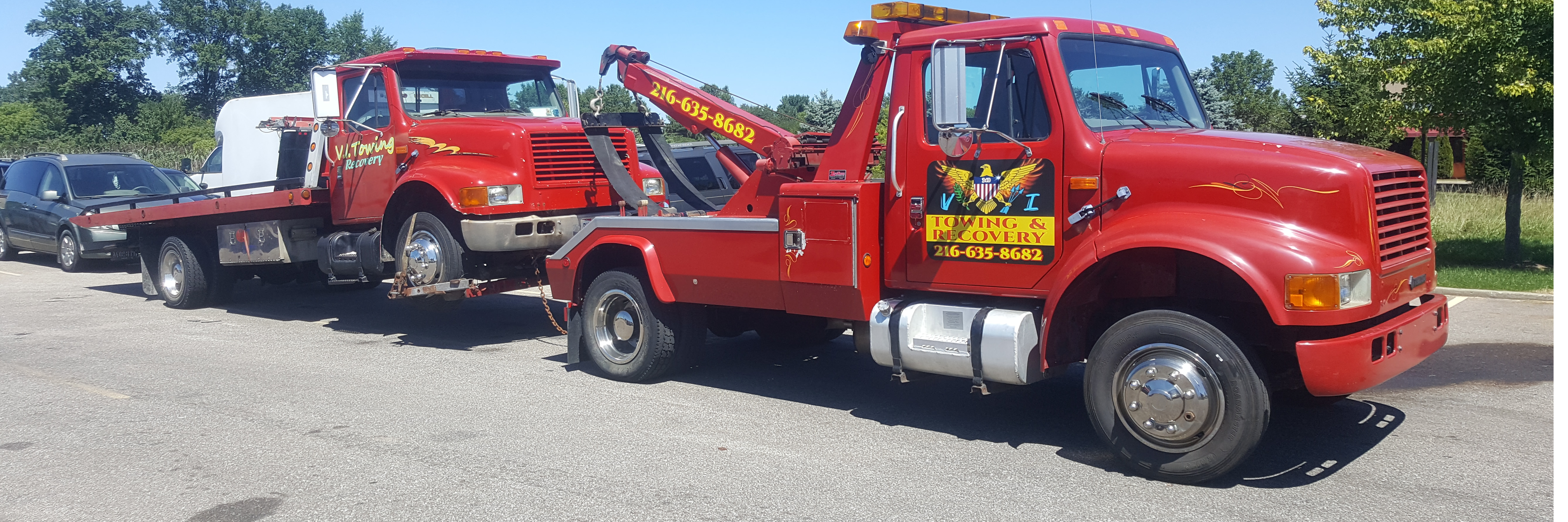 VI TOWING & RECOVERY INC. Towing.com Profile Banner