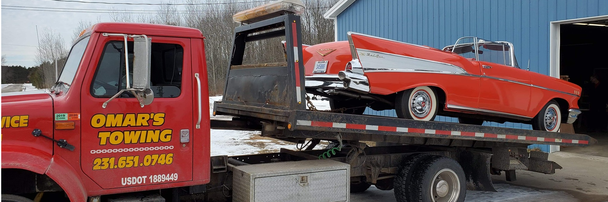 Omar's Towing Towing.com Profile Banner