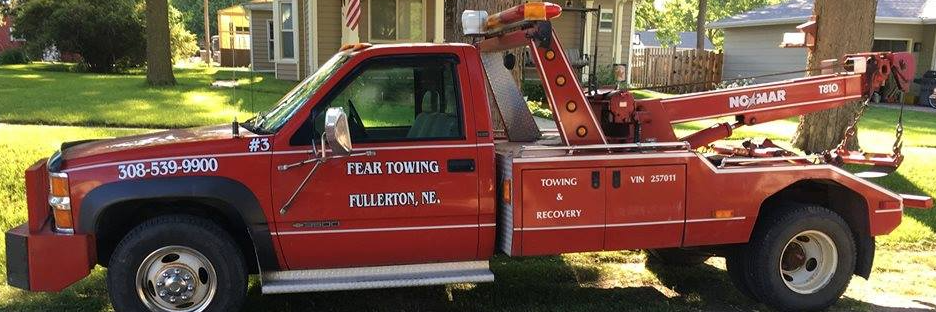 Fear Towing Towing.com Profile Banner