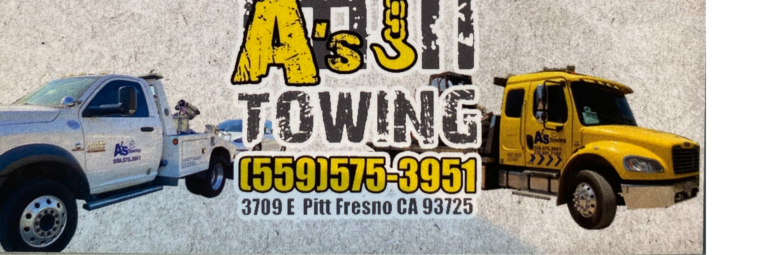 A's towing Towing.com Profile Banner