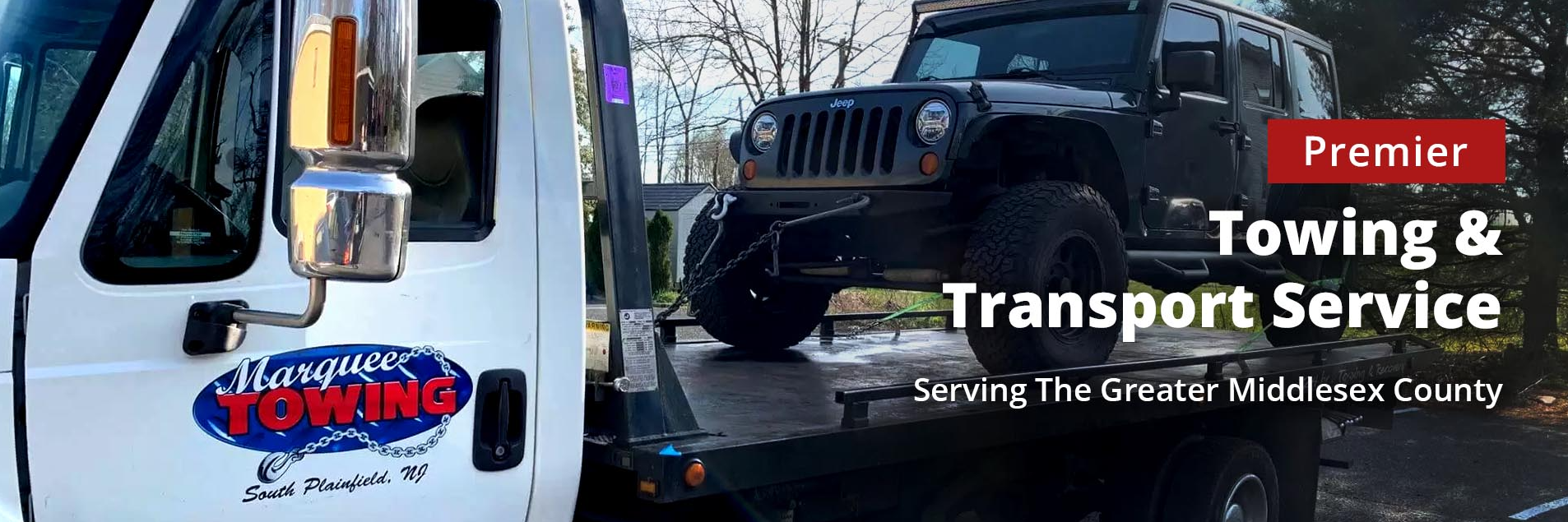 Marquee Auto Transport & Towing Towing.com Profile Banner