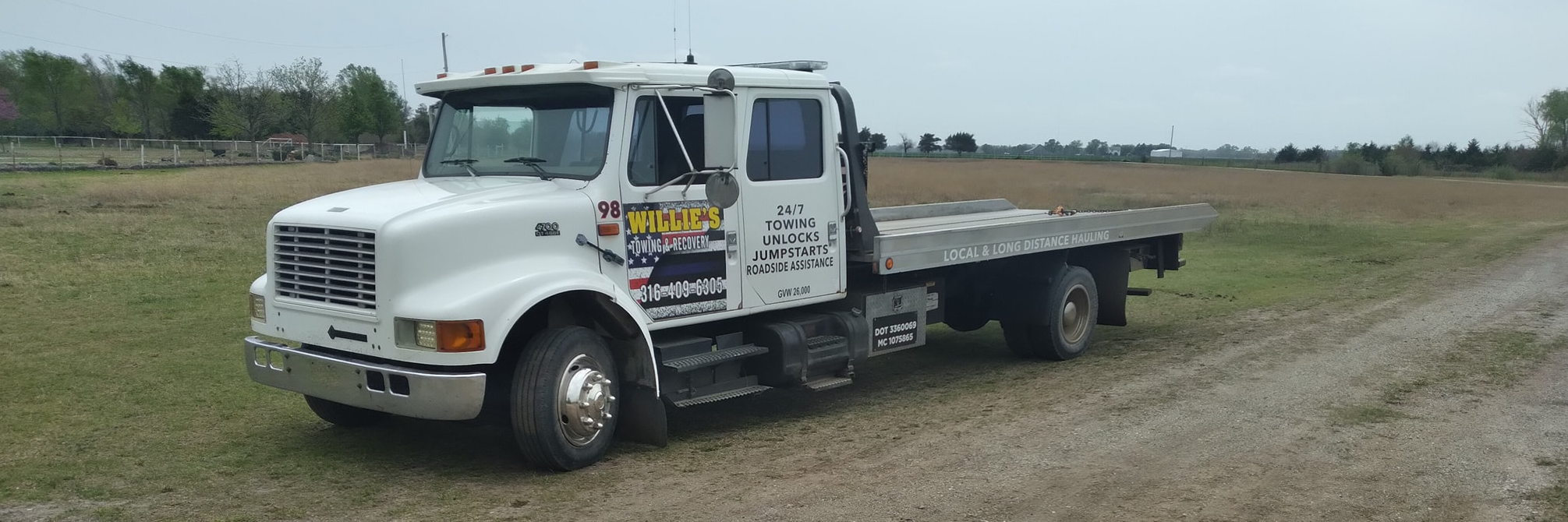 Willie's Towing & Recovery Towing.com Profile Banner