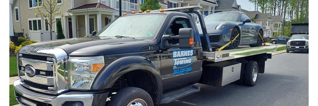 Barnes Towing LLC Towing.com Profile Banner