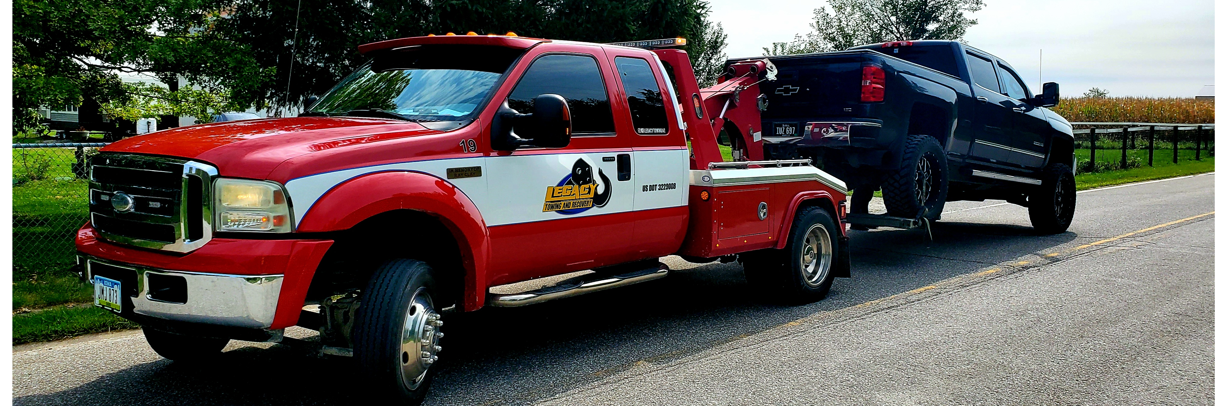 Legacy Towing & Recovery LLC Towing.com Profile Banner