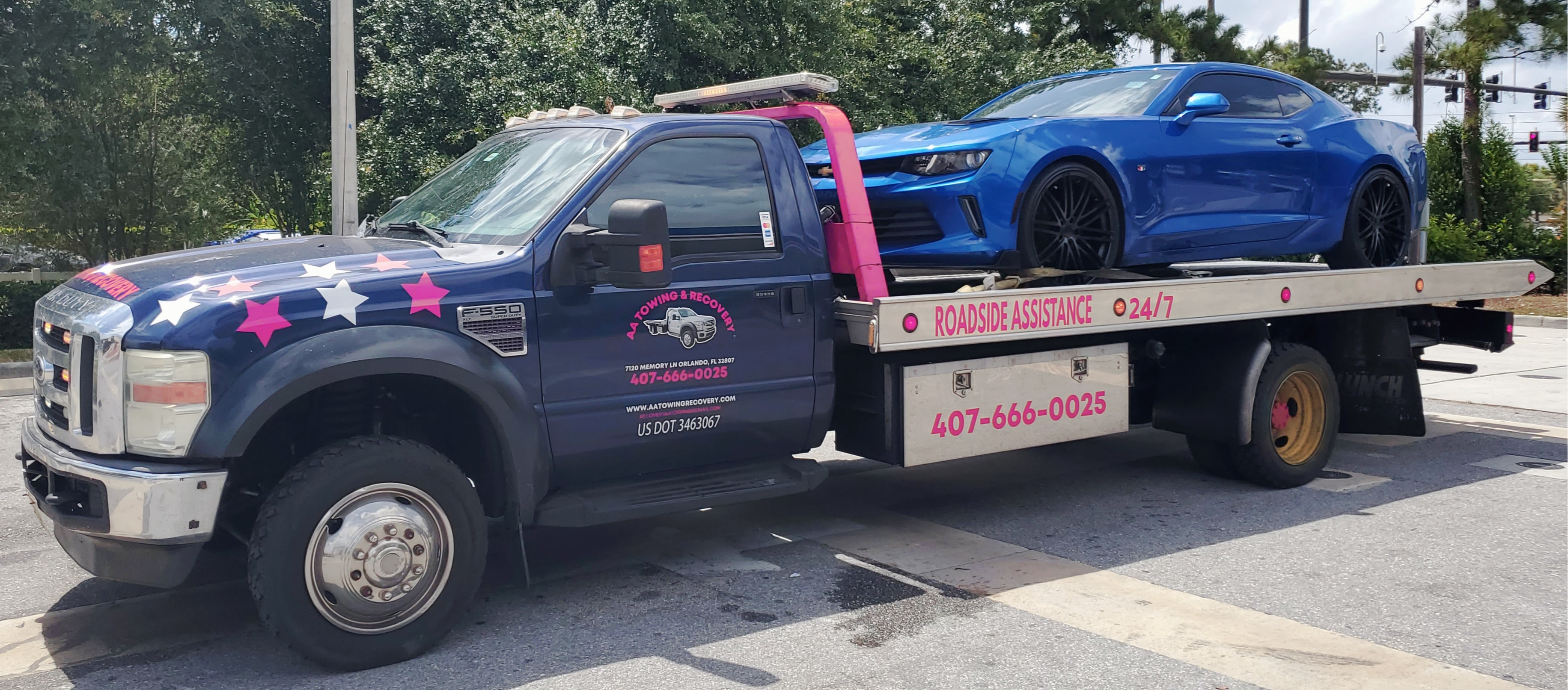 AA TOWING & RECOVERY Towing.com Profile Banner