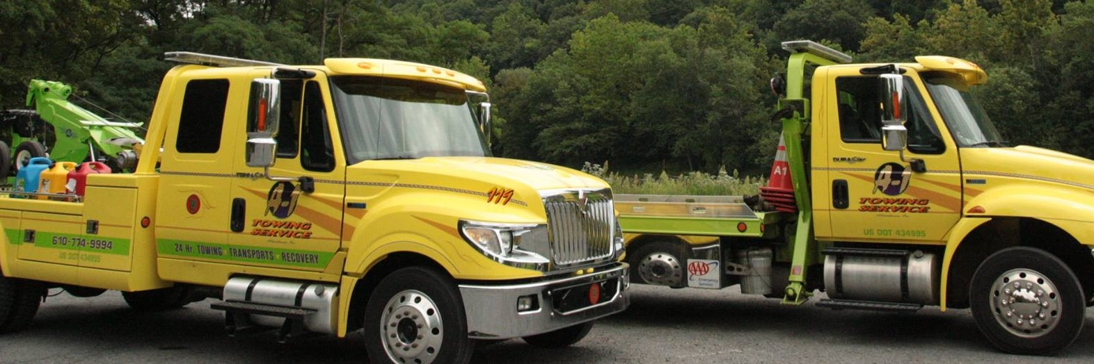 A-1 Towing Service Towing.com Profile Banner