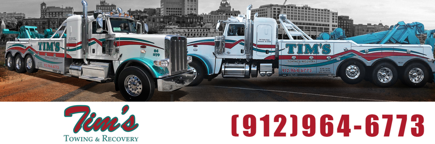 Tim's Towing & Recovery Towing.com Profile Banner