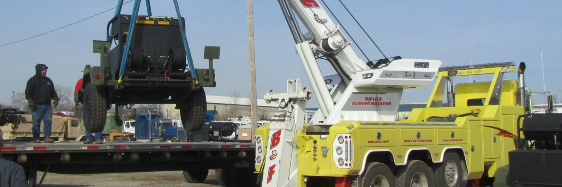 B & F Towing Co. Towing.com Profile Banner