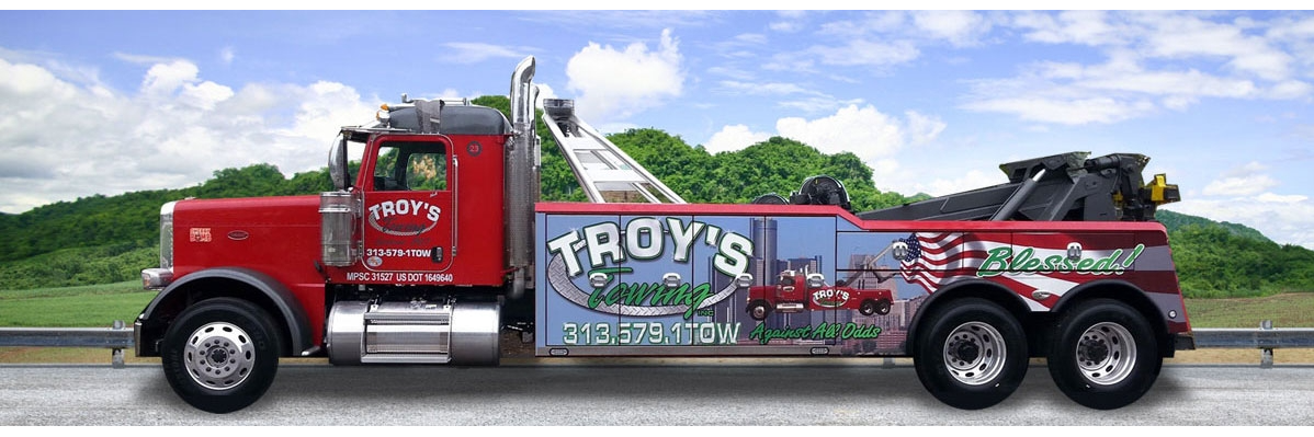 Troy's Towing Inc. Towing.com Profile Banner