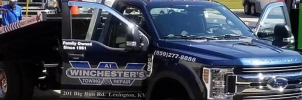 A1 Winchester Towing & Repair Towing.com Profile Banner
