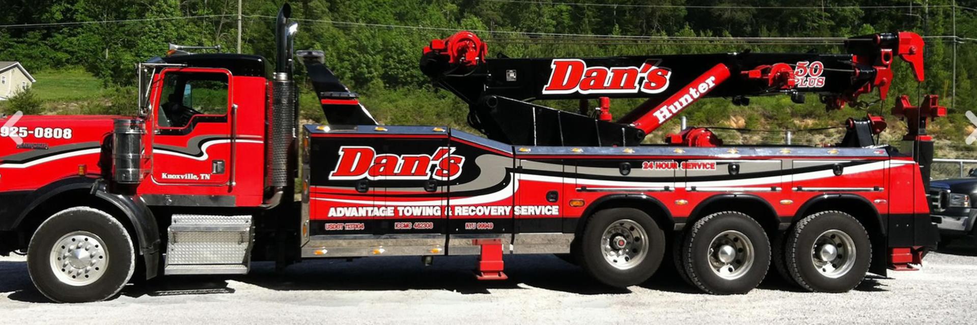 Dan's Advantage Towing Towing.com Profile Banner