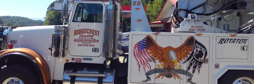 Ridgecrest Towing & Auto Services Towing.com Profile Banner