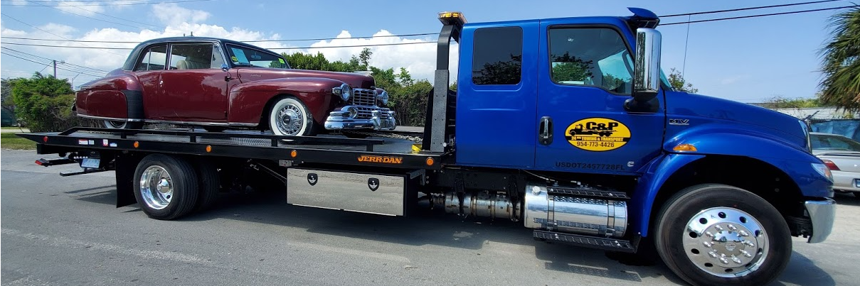 C&P Towing and Transport~Best PRICES Around! Towing.com Profile Banner