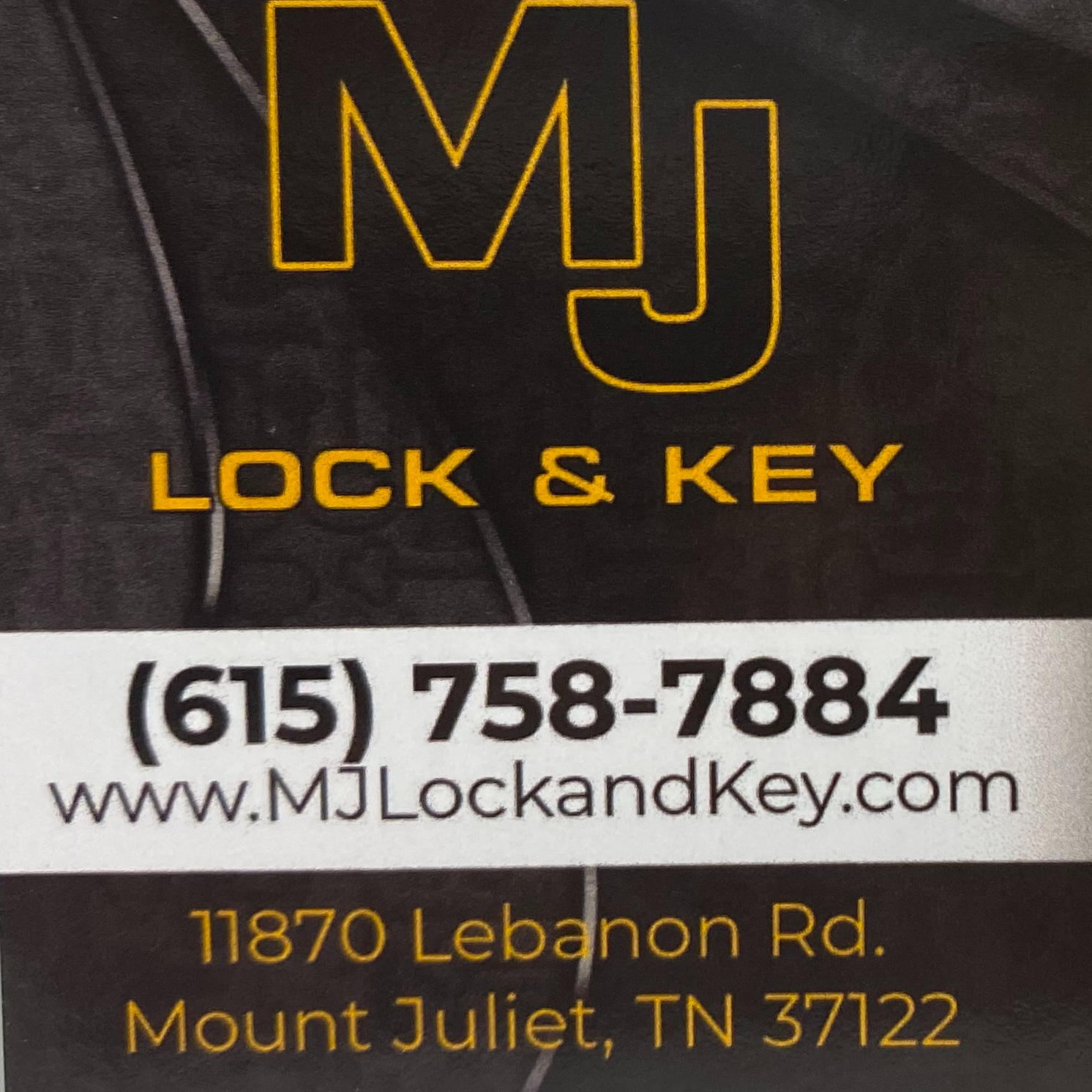MJ Lock & Key logo