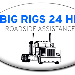Big Rigs 24 Hour Road service logo