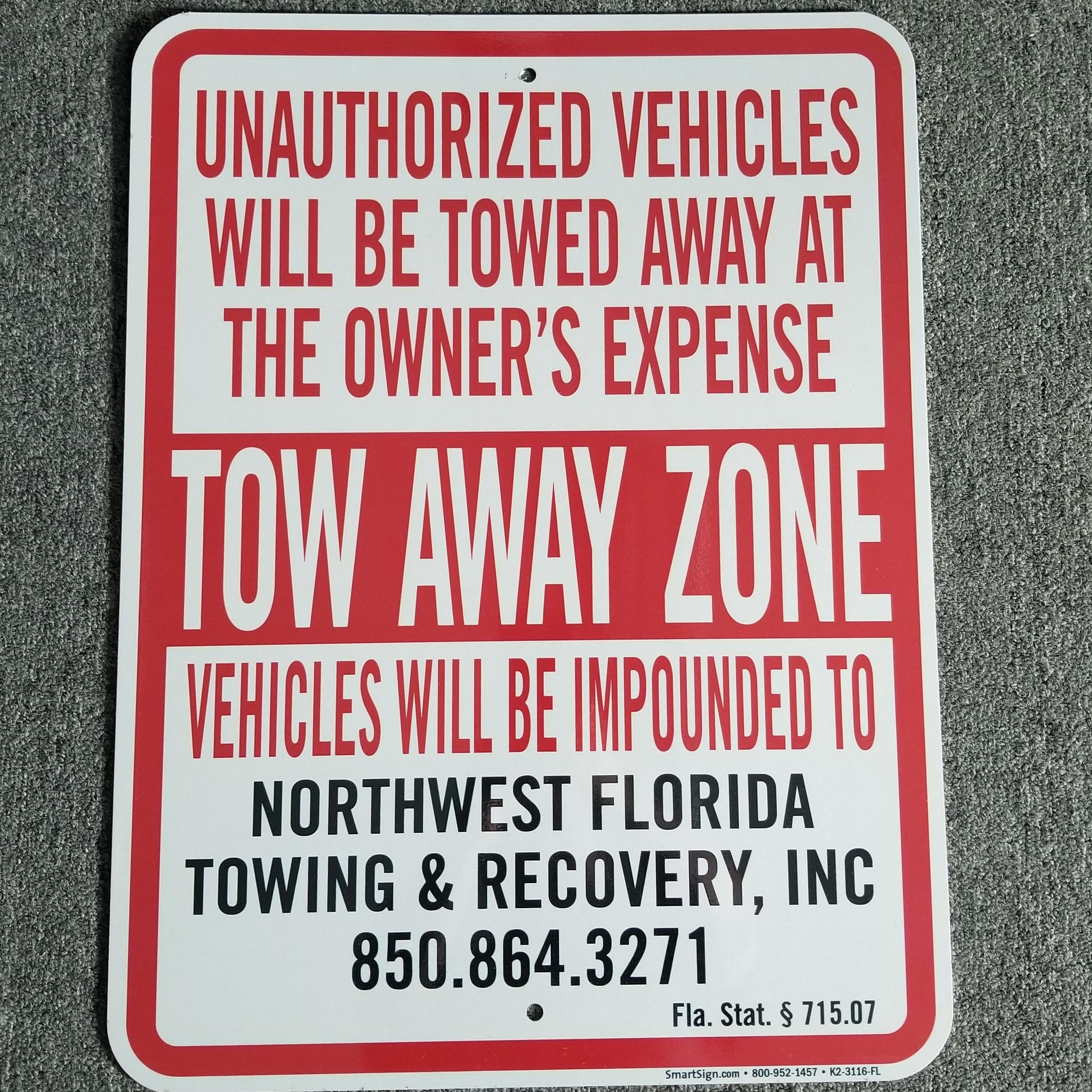 Northwest Florida Towing, Inc. logo