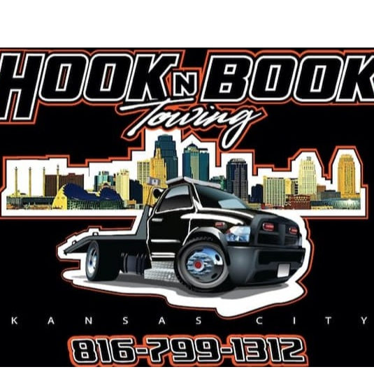 Hook N Book Towing logo