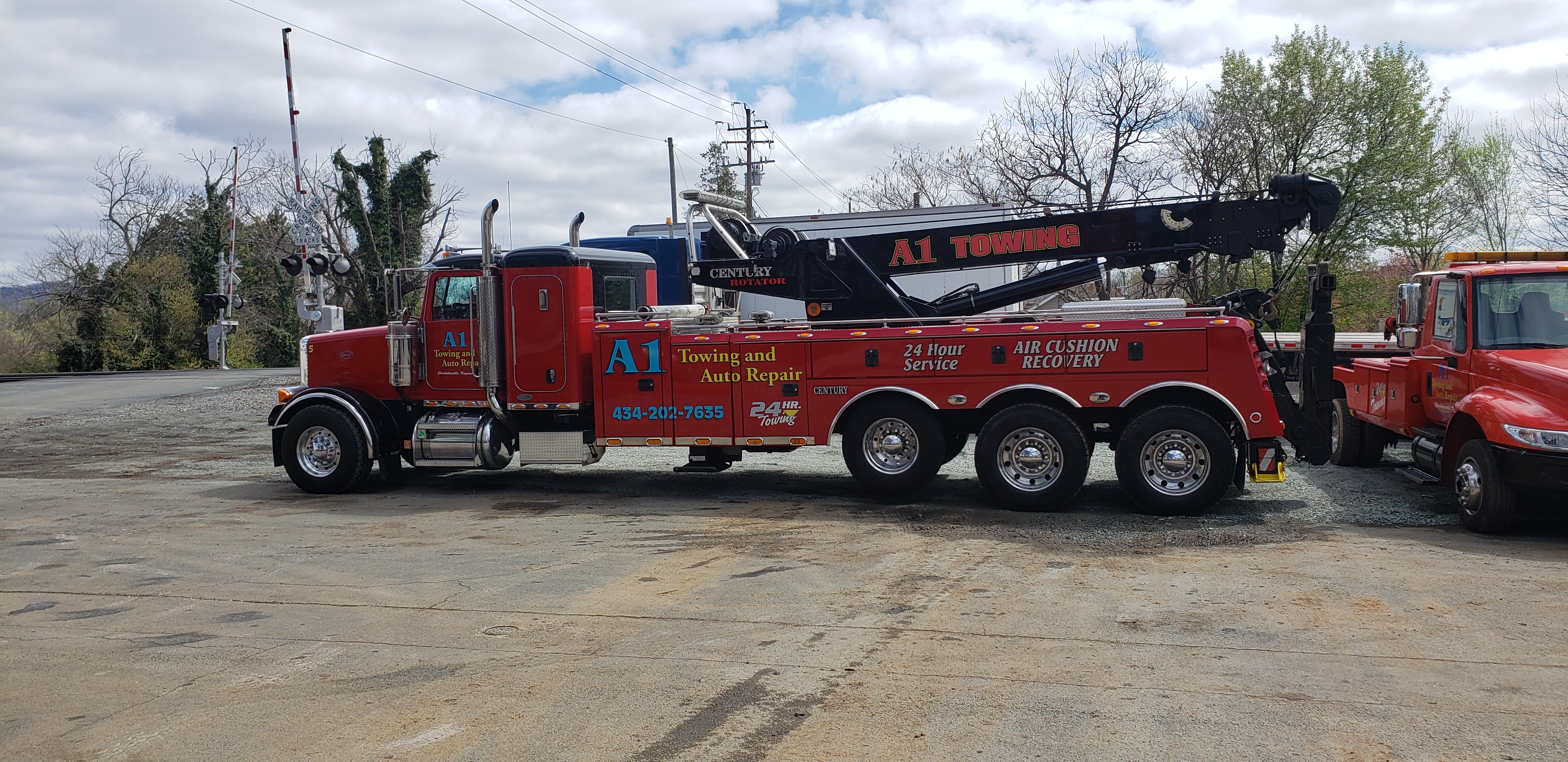 A1 Towing & Auto Repair logo