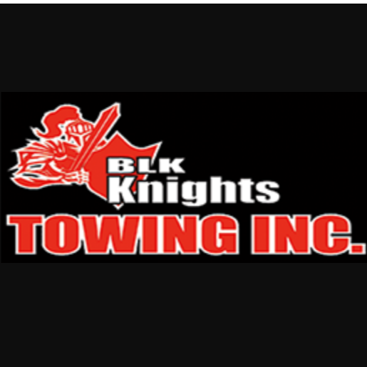 BLK Knights Towing Inc. logo