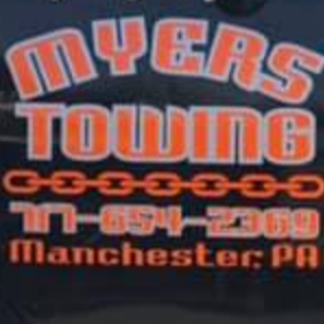 Myers Towing logo