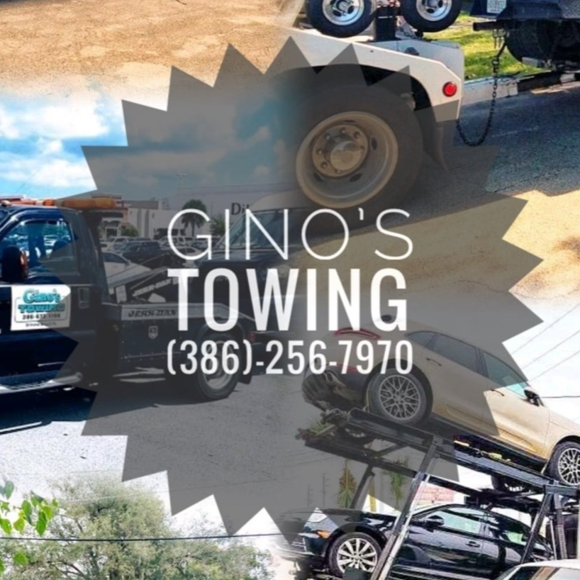 Gino's Towing logo