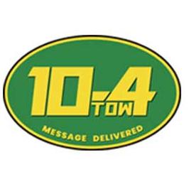 10-4 Towing of Arlington logo