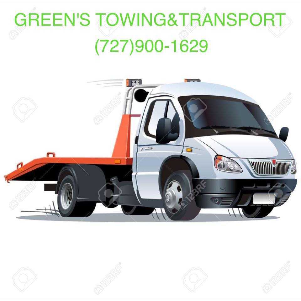 Greens Towing &Transport llc logo