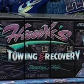 Hawks Recovery and Towing logo