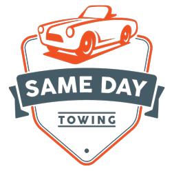 Same Day Towing logo