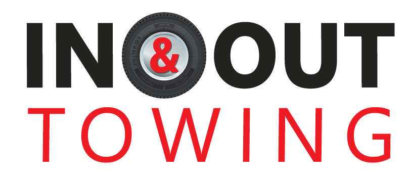 In & Out Towing logo