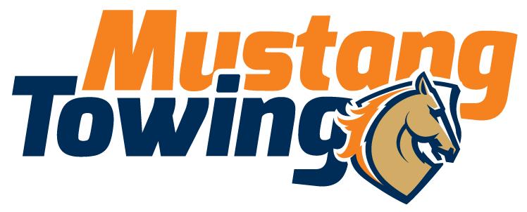 Mustang Towing logo