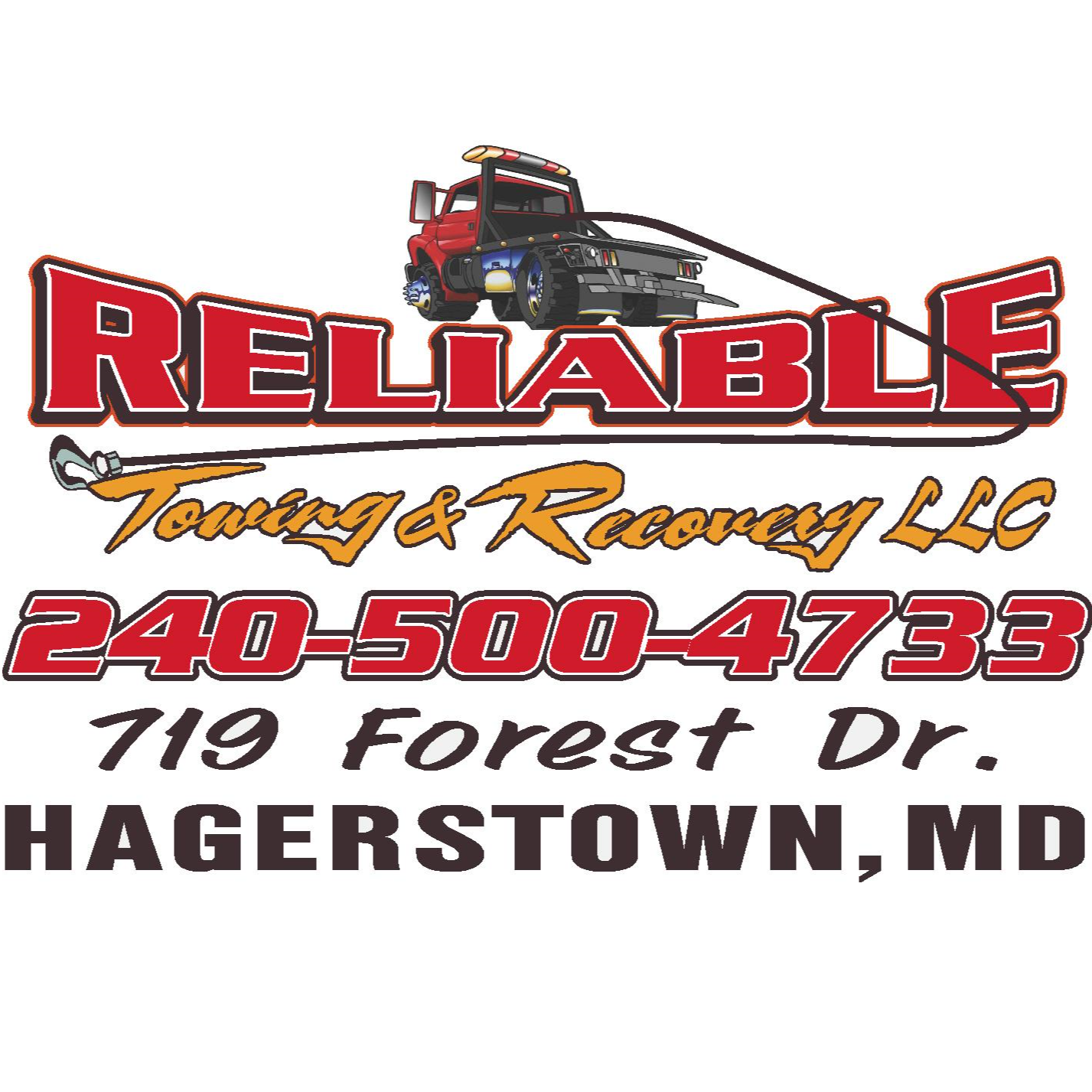 Reliable Towing & Recovery LLC logo