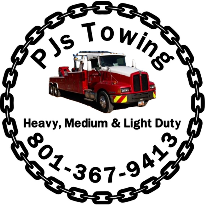 Pj's Rollin Big Towing logo