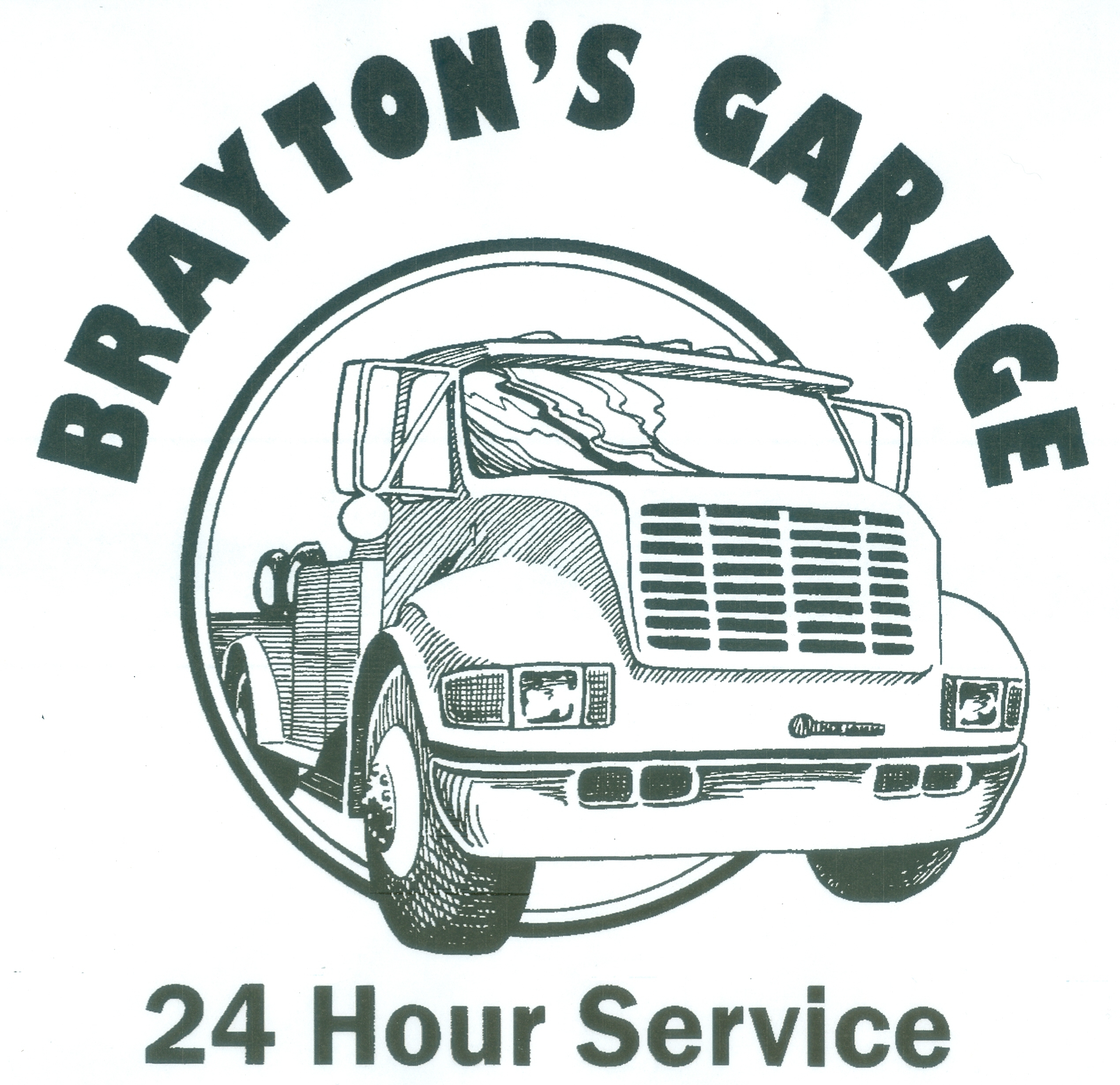F.E. BRAYTON JR. AUTO SALES AND SERVICE logo
