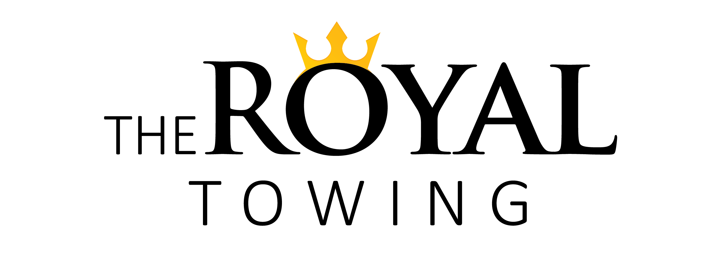 The Royal Towing logo