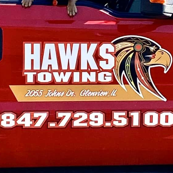 Hawks Towing and Recovery logo